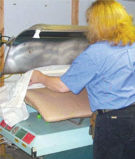 Pressing Drapes