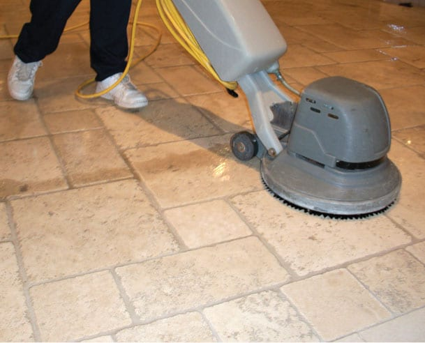 Cleaning Stone Flooring