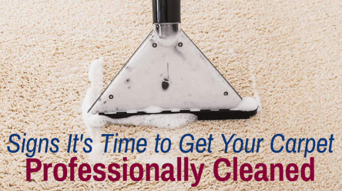 Signs It's Time to Get Your Carpet Professionally Cleaned