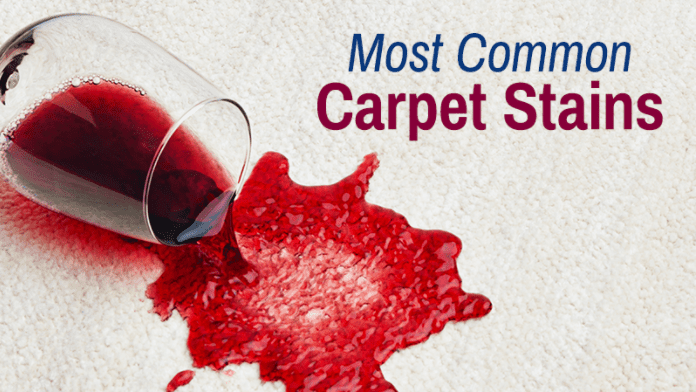 Most Common Carpet Stains