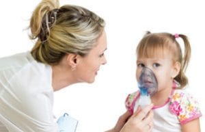 Child with Oxygen