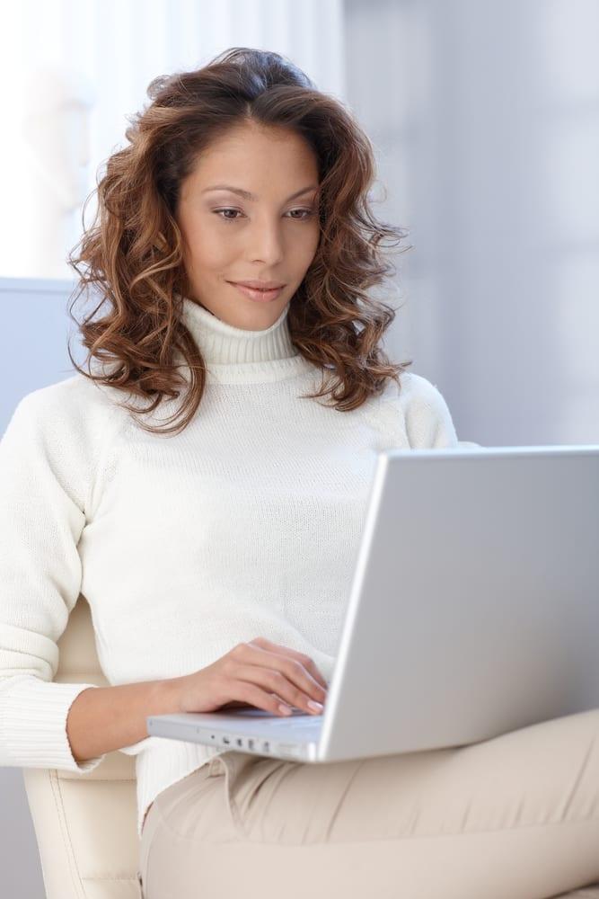 Women on Laptop